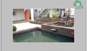 Création étangs Luxembourg paysagiste jardin