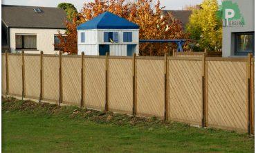 Panneaux clôture jardin Luxembourg pose