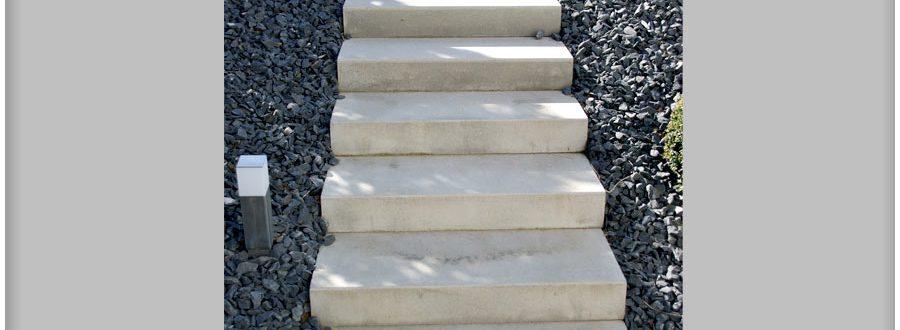 Pose escaliers exterieurs Luxembourg Paysagiste