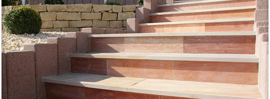 P ose escaliers exterieurs Luxembourg Paysagiste